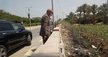 محافظ القليوبية يتابع حالة النظافة بمداخل ووسط بنها وتحرير 21 محضر تبوير أراضى