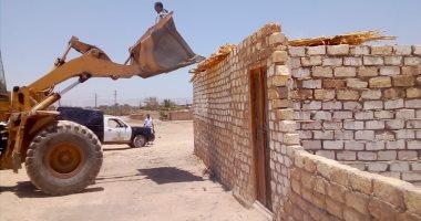 إزالة تعديات أملاك الدولة والزراعات بالقاهرة والمحافظات
