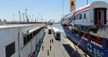 وصول دفعة جديدة من عربات ركاب السكك الحديدية الروسية.. صور