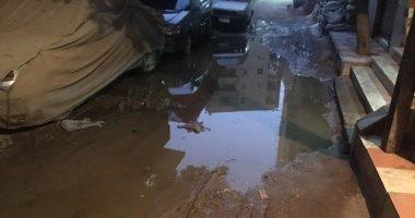 شكوى من غرق شارع الشعراوى بكفر طهرمس بمحافظة الجيزة بمياه الصرف الصحى