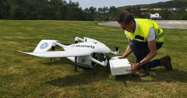 وكالة الفضاء البريطانية تمول نقل اختبارات فيروس كورونا بالطائرات بدون طيار