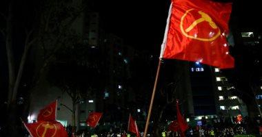 أنصار الحزب الحاكم بسنغافورة يحتفلون فى الشوارع بعد الفوز بالانتخابات العامة