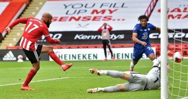 شيفيلد يونايتد يتفوق على تشيلسى 2-0 فى الشوط الأول بالبريميرليج.. فيديو