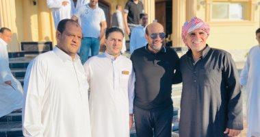 صور.. جولة انتخابية لمحمود الشامى فى أندية مطروح