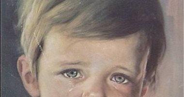 """100 لوحة عالمية.. """"الطفل الباكى"""" شاهدتها من قبل.. هل تعرف """"أسطورتها""""؟"""