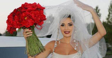 سيرين عبد النور تغازل زوجها:لو عاد بى العمر  لتزوجتك مرة أخرى..فيديو