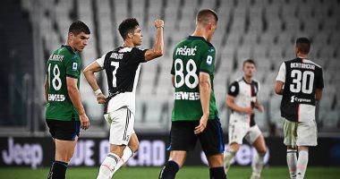 يوفنتوس يتعادل مع أتالانتا 2 - 2 فى الدوري الإيطالي