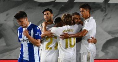 ريال مدريد يواصل انتصاراته المتتالية بالدوري الإسباني بثنائية فى ألافيس
