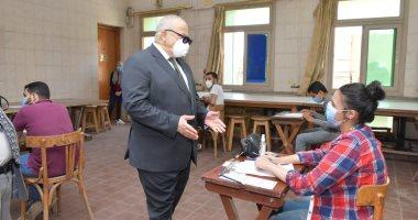 7 كليات بجامعة القاهرة تواصل امتحانات طلاب السنوات النهائية