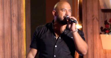 """صور.. محمود العسيلى يطرب بأجمل أغنياته فى حفل """"أون لاين"""""""