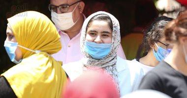 الجغرافيا ترسم البسمة على وجوه طلاب الثانوية العامة بمصر الجديدة