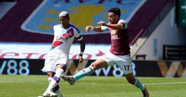 تريزيجيه يحرز هدفا لأستون فيلا ضد كريستال بالاس قبل نهاية الشوط الأول.. فيديو
