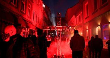 مظاهرات فى شوارع ألمانيا تطالب بإعادة فتح بيوت الدعارة.. صور