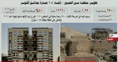 """السيسى للمصريين: """"متنسوش صور العشوائيات ولا تسمحوا بتكرارها"""""""
