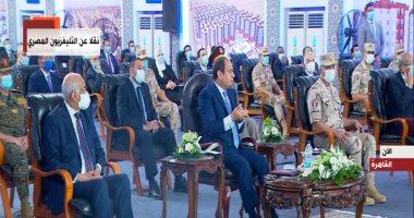 السيسي: وقف تراخيص البناء فى بعض مناطق القاهرة والقرار تأخر 20 عاما