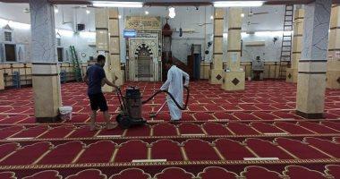 مواطن قبطى يتبرع لتجديد أكبر مساجد الأقصر.. صور