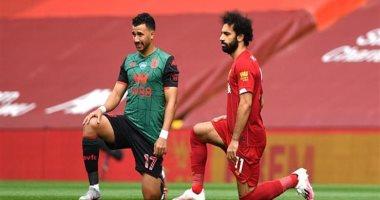 محمد صلاح يلعب دور الوسيط.. هل ينتقل تريزيجيه لصفوف ليفربول الموسم المقبل؟