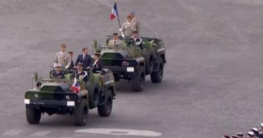 الرئيس الفرنسى يعرض خطته للعامين المتبقيين خلال يوم الباستيل.. فيديو