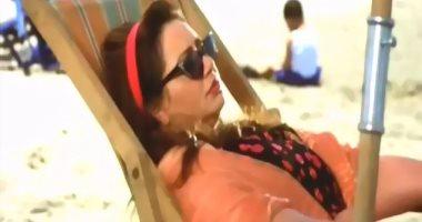"""ليلى علوى تستعين بمشهد من """"بحب السيما"""".. وتعلق: أيام المصيف مع العيلة"""