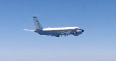 مقاتلات روسية تعترض طائرة استطلاع أمريكية وأخرى نرويجية... فيديو