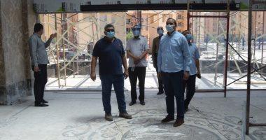 """رئيس جامعة سوهاج يتابع أعمال الإنشاءات بالمستشفى الجامعى الجديد """"فيديو وصور"""""""