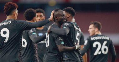 """أرسنال ضد ليفربول.. ساديو ماني يفتتح أهداف اللقاء بعد 20 دقيقة """"فيديو"""""""