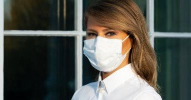 ميلانيا ترامب تظهر بالكمامة: احتياطات كورونا تعني بلدًا أكثر صحة وأمانًا