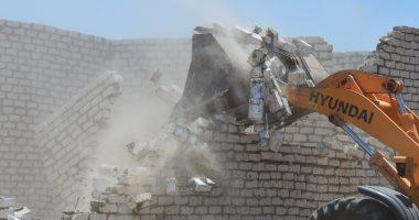 محافظ بنى سويف: إزالة 120 تعديا على أراضى أملاك الدولة والزراعات