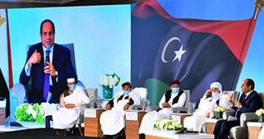 القبائل الليبية: نفوض الرئيس السيسى والجيش المصرى بالدخول إلى ليبيا