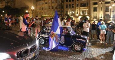 احتفالات صاخبة من جماهير بورتو بلقب الدوري البرتغالى.. فيديو وصور
