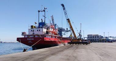 شحن 3150 طن صودا كاوية وتدوال 26 سفينة بموانئ بورسعيد