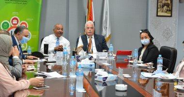 محافظ جنوب سيناء : إنشاء مناطق لوجستية ومراكز تجارية بمدن المحافظة