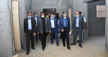 محافظ البحيرة يتفقد أعمال إنشاء المبنى الجديد لمستشفى ايتاى البارود