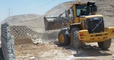 محافظ أسيوط : تنفيذ 21 حالة إزالة واسترداد 18 فدان بمركز أبوتيج