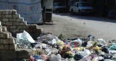 سيبها علينا.. شكوى من انتشار القمامة بقرية شروق ديرمواس بالمنيا