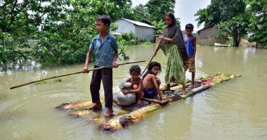 إغلاق المكاتب الحكومية بالهند وتعليق خدمات القطار بسبب الأمطار الغزيرة