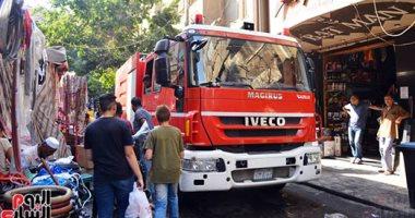 التحقيقات تكشف تفاصيل اشتعال النار فى مخزن مستشفى خاص بشارع فيصل