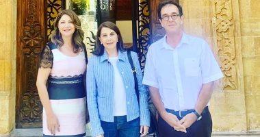 ماجدة الرومى بعد لقاء سفير فرنسا فى لبنان: أوطان تحترم كرامة الإنسان