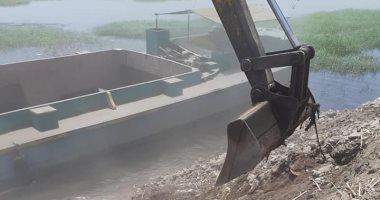 إزالة 31 حالة تعد تشمل مبانى وأسوار على حرم نهر النيل فى الأقصر.. صور
