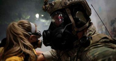 تجدد الاشتباكات بين الشرطة ومتظاهرين فى بورتلاند الأمريكية
