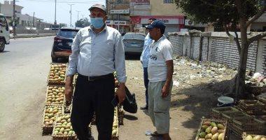مجلس مدينة طنطا يشن حملة لرفع الإشغالات بقرية الرجدية.. صور