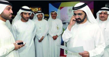"""حاكم دبى يطلع على استراتيجية مركز محمد بن راشد للفضاء """"2021 -2031"""""""