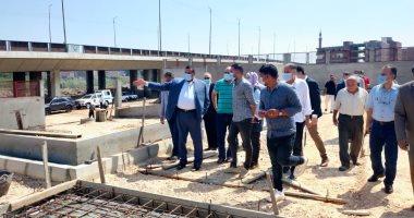 صور.. إنشاء محطة وسيطة للقمامة في دمنهور بـ7 ملايين جنيه