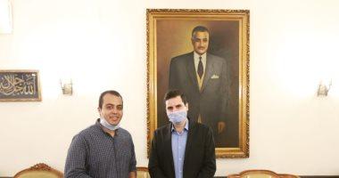 حفيد جمال عبد الناصر: لولا ثورة 23 يوليو ما كان للمصريين مكان