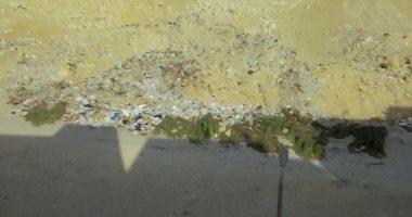 تراكم القمامة فى المقطم.. والأهالى تطالب بإزالتها حرصا على الصحة العامة