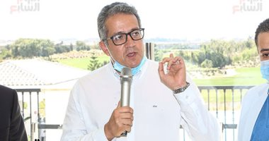 وزير السياحة يقترح على سفير بلجيكا استضافة معرض مؤقت للآثار المصرية