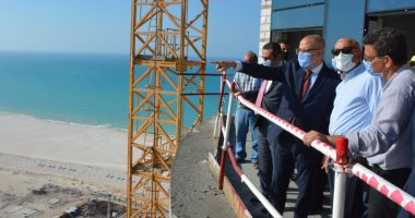 وزير الإسكان من العلمين: المدينة ستكون مقصداً للسياحة المحلية والعالمية.. صور