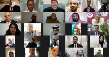الشباب العربى يوجهون الشكر للرئيس السيسي فى ختام المشاورات الشبابية