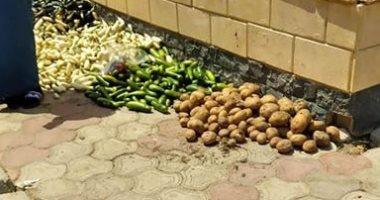 امسك مخالفة.. شكوى من انتشار الباعة الجائلين والقمامة بحى النرجس بمدينة بدر
