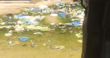 صورة.. طفح الصرف الصحى بمساكن توشكى فى العامرية بالإسكندرية
